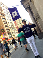 My nephew, who has agreed to attend NYU on a full scholarship for ballet