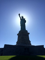 Lady liberty enlightening the world